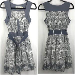 Aventura Organic Cotton Belted Sleeveless Dress, 6